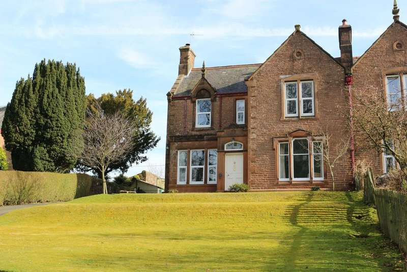 4 Bedrooms Semi Detached House for sale in St Bryde's Terrace, Lockerbie DG11