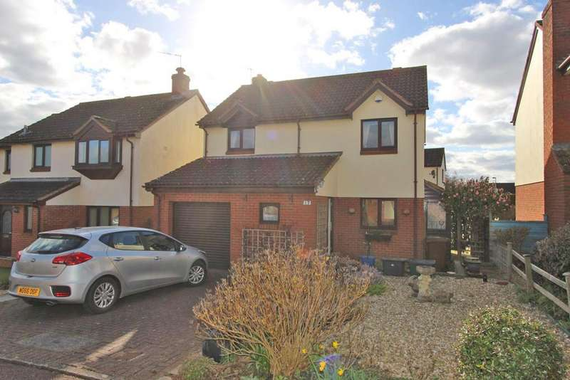 3 Bedrooms Detached House for sale in Fairfield, Sampford Peverell, EX16