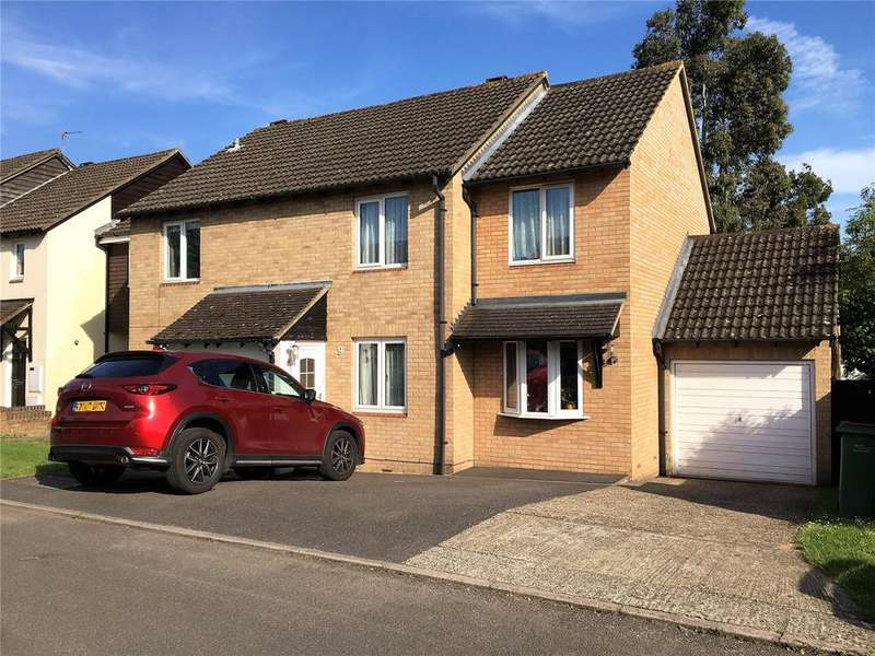 3 Bedrooms Semi Detached House for sale in Derrick Close, Calcot, Reading, Berkshire, RG31