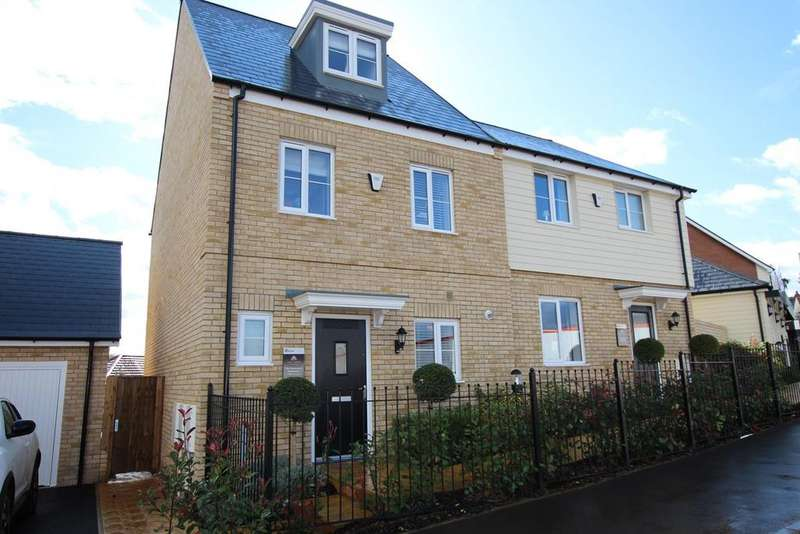 3 Bedrooms Semi Detached House for sale in Tall Trees , Biggleswade Road, Potton, SG19
