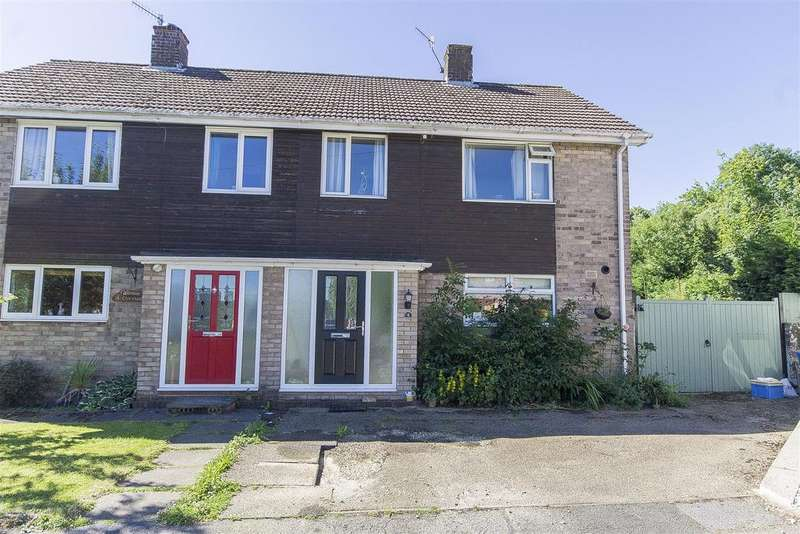 3 Bedrooms Semi Detached House for sale in Chiltern Close, Loundsley Green, Chesterfield