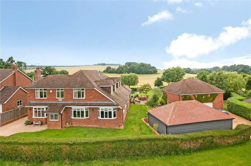 5 Bedrooms Detached House for sale in Top Green, Lockerley, Romsey, Hampshire, SO51