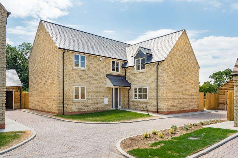 4 Bedrooms Detached House for sale in The Hatford Plot 13, Bow Farm, Bow Road, Stanford in the Vale, Faringdon