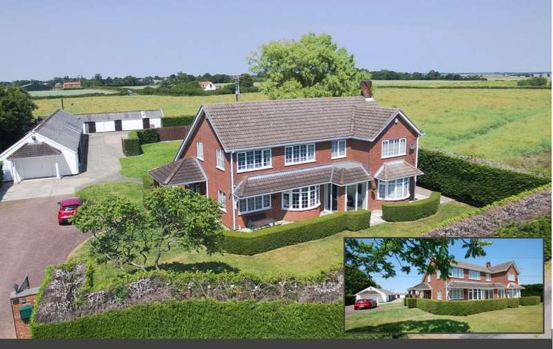5 Bedrooms Detached House for sale in North Cockerington, Louth