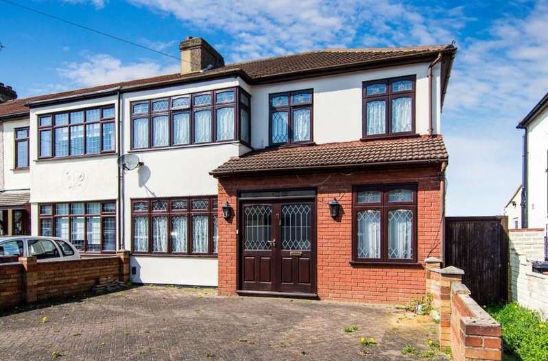 4 Bedrooms End Of Terrace House for sale in Riversdale Road, Collier Row