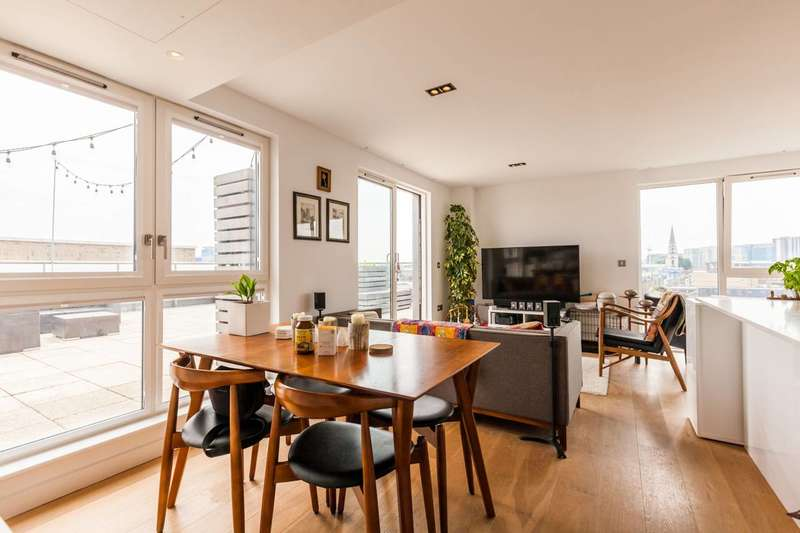 2 Bedrooms Flat for sale in Avantgarde Place, Shoreditch, E1