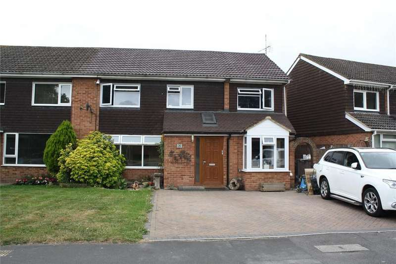 5 Bedrooms Semi Detached House for sale in Tippings Lane, Woodley, Reading, Berkshire, RG5