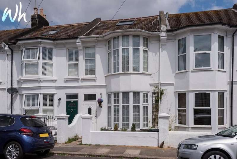 3 Bedrooms Terraced House for sale in Wordsworth Street, Hove BN3