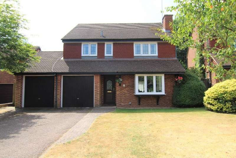 4 Bedrooms Detached House for sale in Jasmine Close, Wokingham, Berkshire, RG41 3NQ