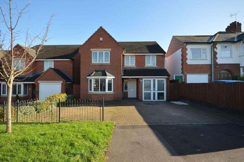 4 Bedrooms Detached House for sale in Cork Lane, Glen Parva, Leicester LE2