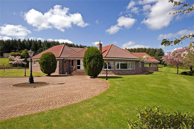 5 Bedrooms Detached Bungalow for sale in Brae Lodge, Ordhead, Inverurie, Aberdeenshire