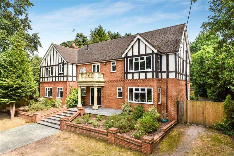 5 Bedrooms Detached House for sale in London Road, Bagshot, Surrey, GU19
