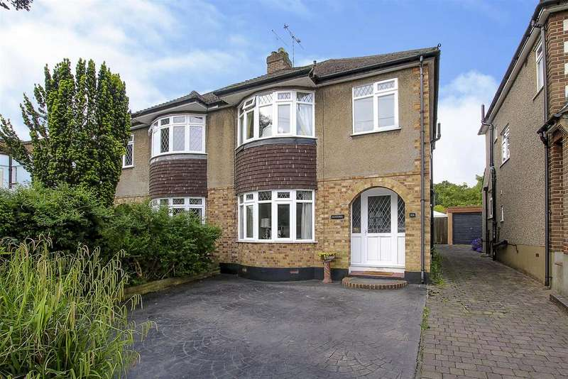 3 Bedrooms Semi Detached House for sale in Shenfield Crescent, Brentwood