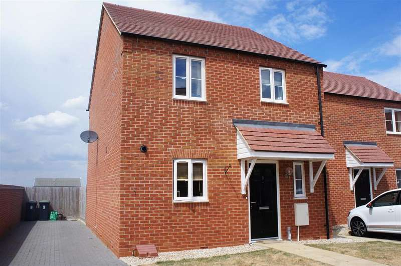 3 Bedrooms Semi Detached House for sale in Smallbrook, Cranfield, Bedford