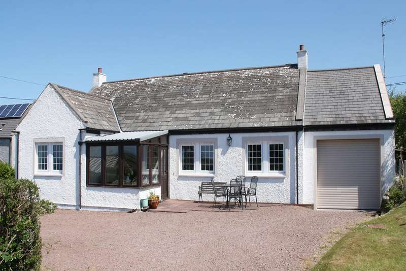 3 Bedrooms Detached Bungalow for sale in Pump Cottage, Borgue, Kirkcudbright DG6 4SN