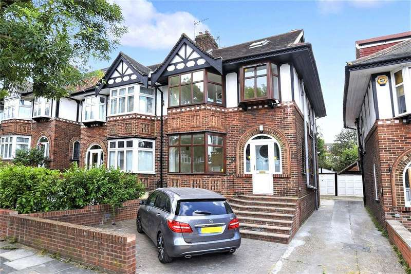 4 Bedrooms Semi Detached House for sale in Brunswick Gardens, Ealing, W5