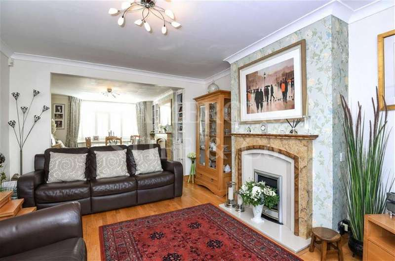 4 Bedrooms Semi Detached House for sale in Cullingworth Road, Dollis Hill, London, NW10
