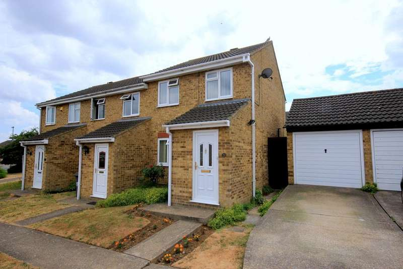 2 Bedrooms End Of Terrace House for sale in Trent Avenue, Flitwick, MK45