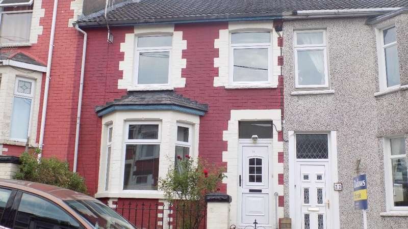 3 Bedrooms Terraced House for sale in Coronation Road, Six Bells, Abertillery. NP13 2PJ