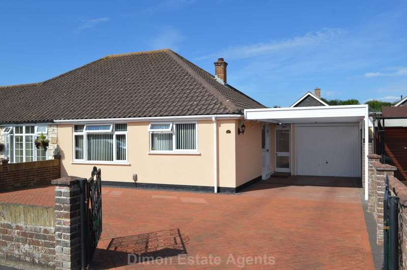 2 Bedrooms Semi Detached Bungalow for sale in Cavanna Close, Gosport