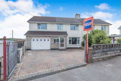5 Bedrooms Semi Detached House for sale in North Roskear, Camborne, Cornwall