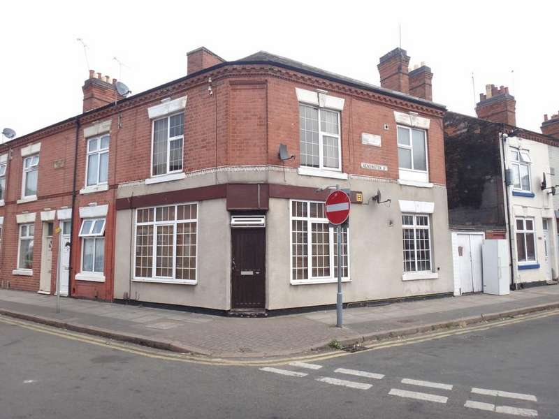 2 Bedrooms End Of Terrace House for sale in Kensington Street, Belgrave, Leicester