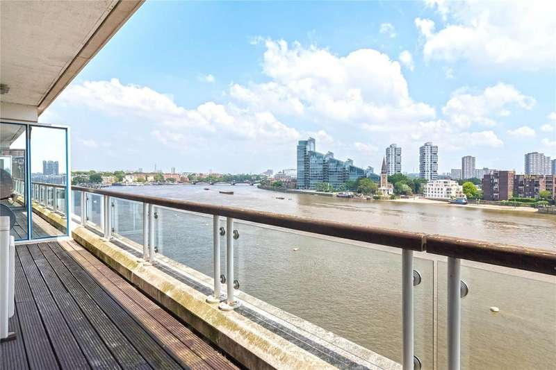 3 Bedrooms Flat for sale in Thames Quay, Chelsea Harbour, London, SW10