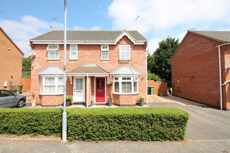 2 Bedrooms Semi Detached House for sale in Rhodes Close, Market Harborough