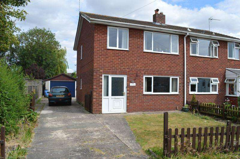 3 Bedrooms Semi Detached House for sale in Lime Crescent, Waddington