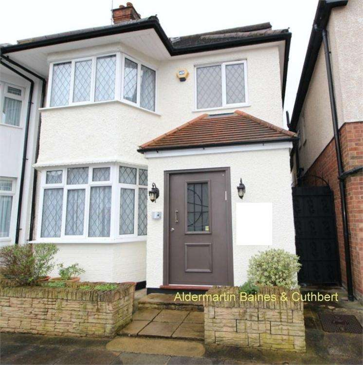 4 Bedrooms Semi Detached House for sale in Gainsborough Gardens, Golders Green