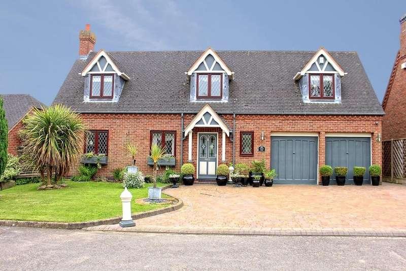 4 Bedrooms Detached House for sale in Norton Juxta Twycross, Warwickshire, CV9