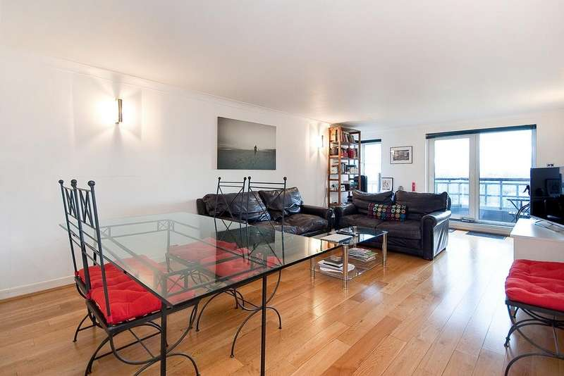 2 Bedrooms Flat for sale in NUFFIELD LODGE, ADMIRAL WALK, LONDON