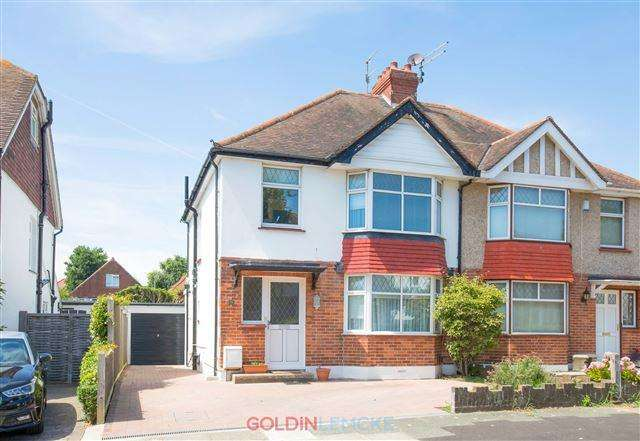 3 Bedrooms Semi Detached House for sale in Woodhouse Road, Hove