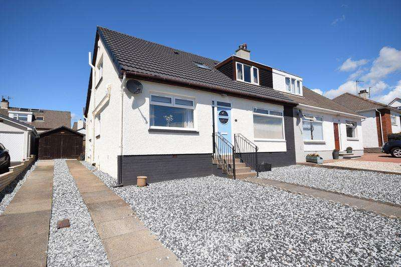 3 Bedrooms Semi Detached Bungalow for sale in 20 Pine Road, Kilmarnock KA1 2EZ