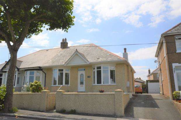 2 Bedrooms Semi Detached Bungalow for sale in Roman Way, Plymouth, Devon