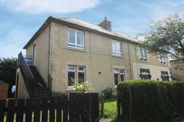 2 Bedrooms Ground Flat for sale in Den Walk, Fife, KY8 1DH