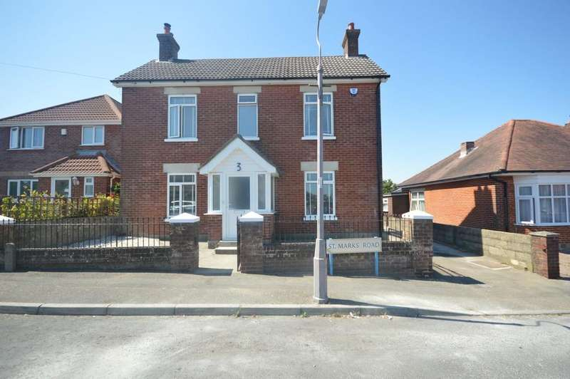 4 Bedrooms Detached House for sale in St. Marks Road, Bournemouth