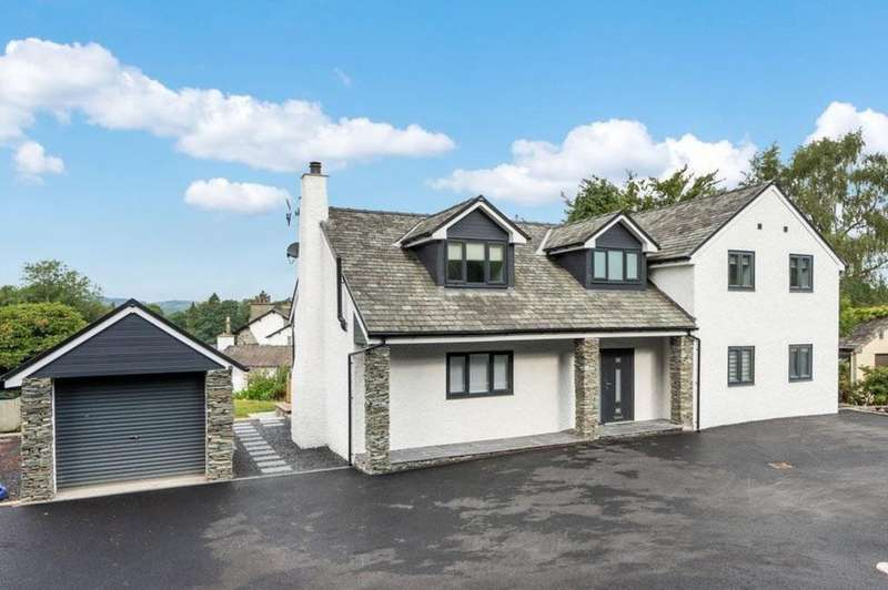 4 Bedrooms Detached House for sale in 2 Oakland Drive, Windermere, Cumbria, LA23 1AS