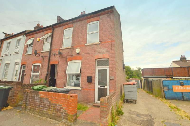 2 Bedrooms End Of Terrace House for sale in Butlin Road, Luton, Bedfordshire, LU1 1LD