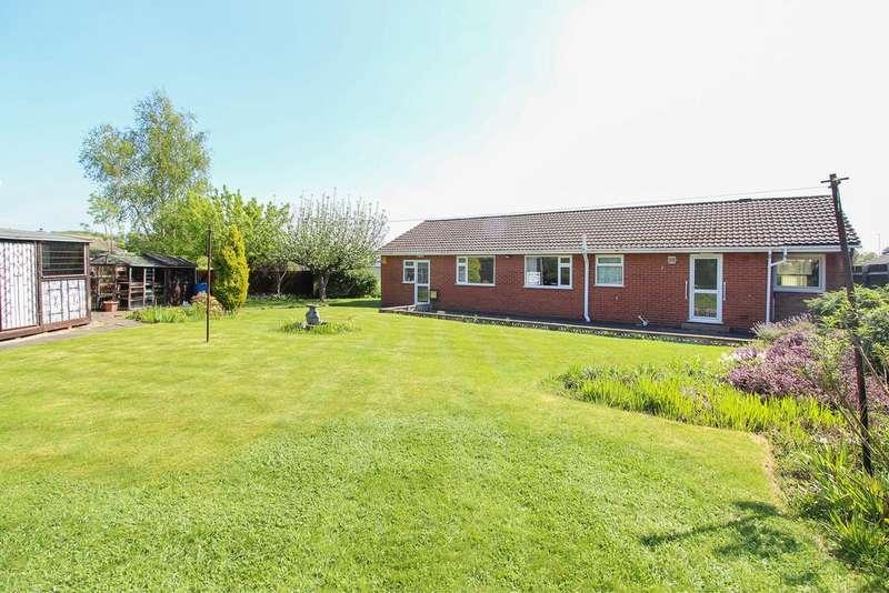3 Bedrooms Detached Bungalow for sale in Swanbourne Close, Hasland