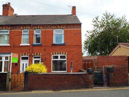 3 Bedrooms End Of Terrace House for sale in Vicarage Hill, Rhostyllen, Wrexham, Wrecsam, LL14