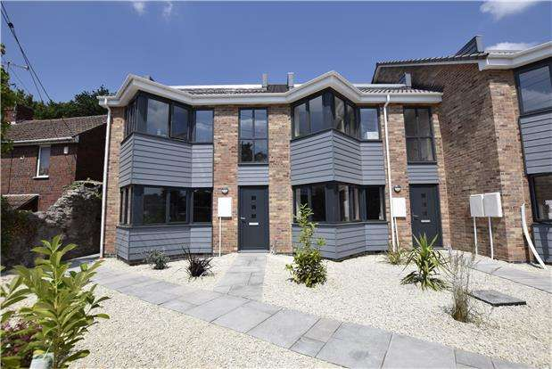 3 Bedrooms Maisonette Flat for sale in Plot 10 Avon view, Crews Hole Road, BRISTOL, BS5 8BB