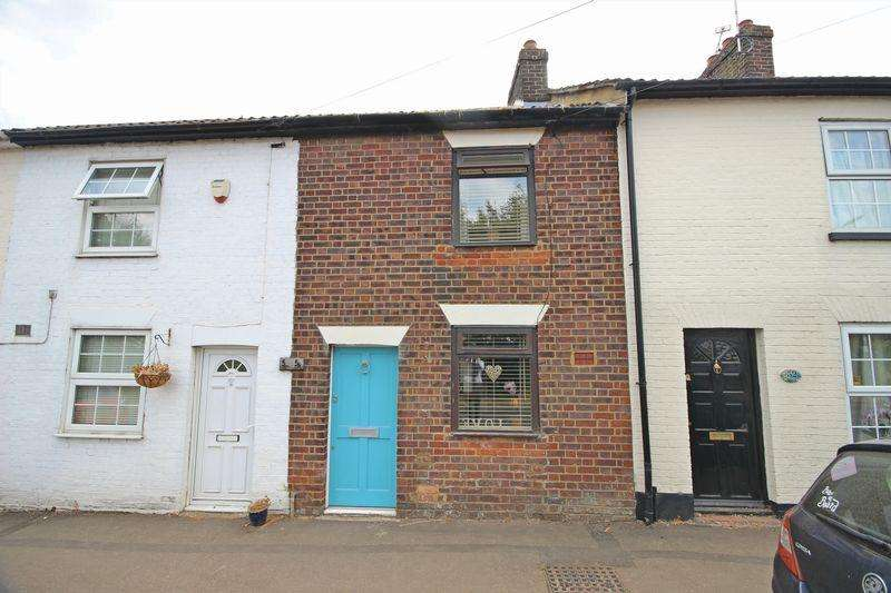 2 Bedrooms Terraced House for sale in Church Road, Slip End, Luton
