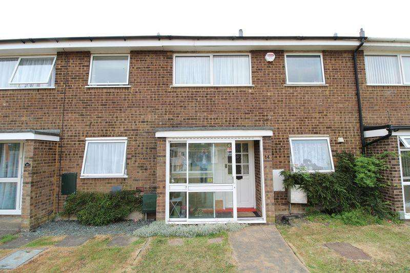 3 Bedrooms Terraced House for sale in SPACIOUS Three bedroom property with GARAGE on Rose Walk, Houghton Regis