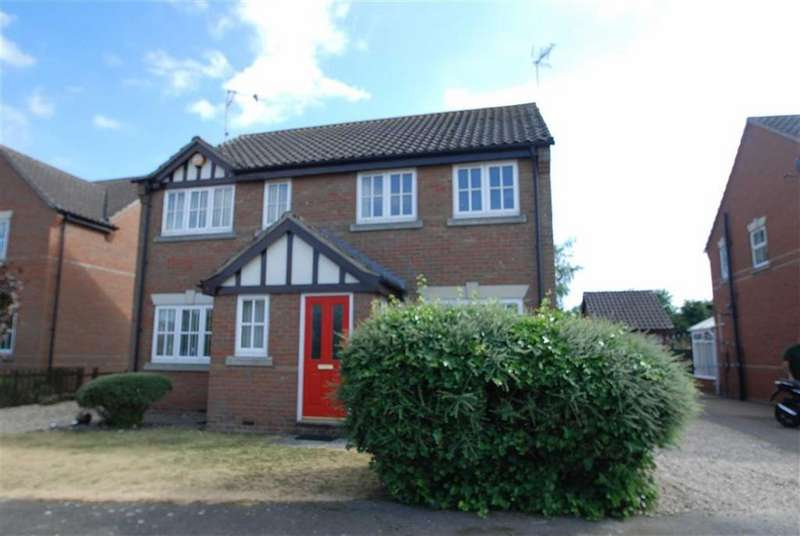 2 Bedrooms Semi Detached House for sale in Cooks Lock, Boston