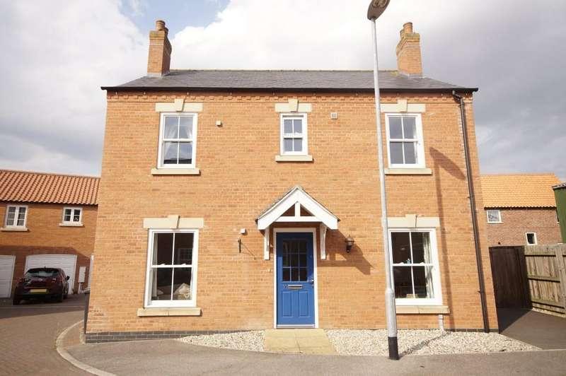 4 Bedrooms Detached House for sale in Honeysuckle Lane, Wragby, Market Rasen