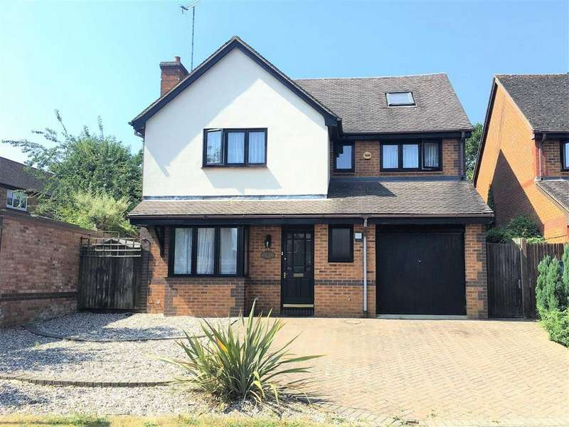 5 Bedrooms Detached House for sale in Elderberry Drive, Hitchin, SG4