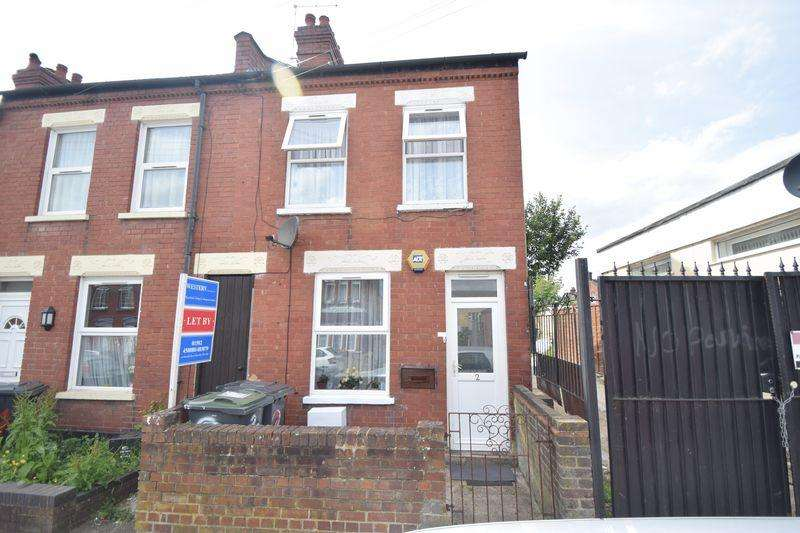 2 Bedrooms End Of Terrace House for sale in Newcombe Road, Luton