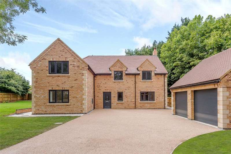 5 Bedrooms Detached House for sale in Church Road, Hargrave, Wellingborough, NN9