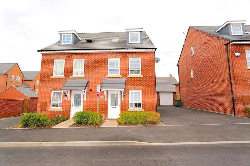 3 Bedrooms Detached House for sale in Fleet Road, Lubbesthorpe